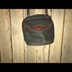 Handbags - Green and brown crossbody